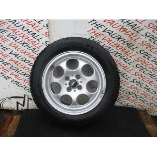 Mini Cooper D R56 06-13 Single Alloy Wheel + Tyre 175-65-15 151245 *scuffs* - Used