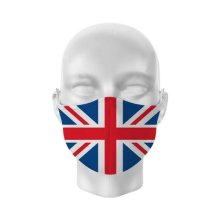 Reusable Face Covering - Non Medical - Size Large- Union Jack