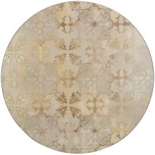 Creative Tops Gold Impressions Pack Of 4 Premium Round Placemats