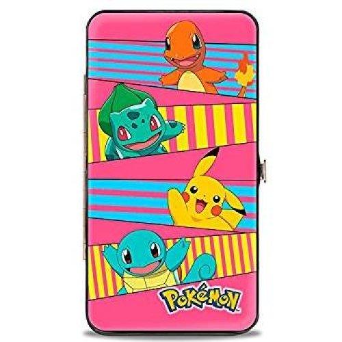 Hinge Wallet - Pokemon - V.9 Toys New Licensed hw-pkv