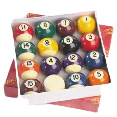 SOLID STRIPES PROFESSIONAL TABLE TOP MATCH QUALITY 16 POOL BALLS SET 2 INCH