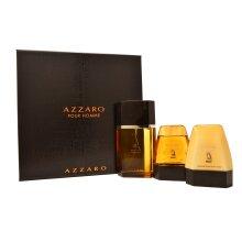 Azzaro Pour Homme Eau de Toilette 3 Pieces Gift Set For Mens (UK)