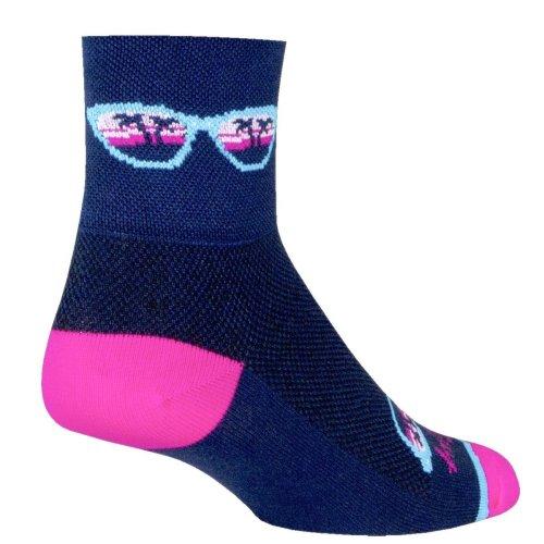 "Socks - Sockguy - Classic 3"" - Shady L/XL Cycling/Running"
