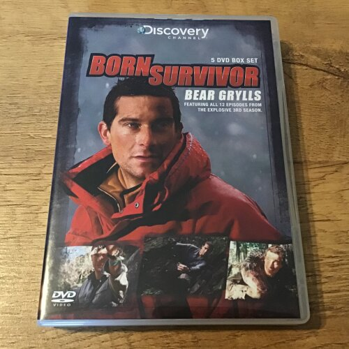 Born Survivor Bear Grylls Season 3 Dvd - Used