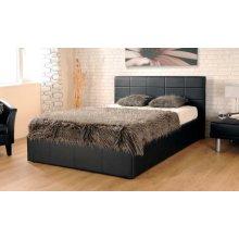 Ezra Faux Leather Ottoman Storage Bed