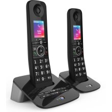 BT Premium Cordless Home Phone with 100% Nuisance Call Blocking, Mobile sync and Answering Machine, Twin Handset Pack