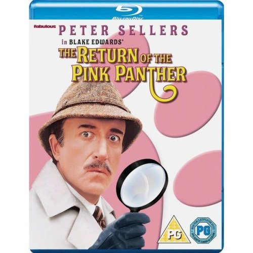 The Return Of The Pink Panther Blu-Ray [2016]