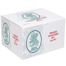 Green Dragon Prawn Crackers - 6x2kg