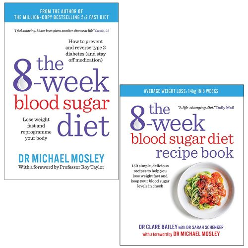8-Week Blood Sugar Diet,8-Week Blood Sugar Diet 2 Books Collection Set