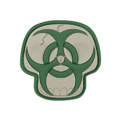 Biohazard Skull Patch - Arid