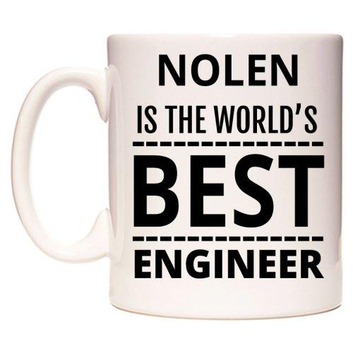 NOLEN Is The World's BEST Engineer Mug
