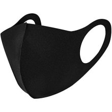 Reusable Unisex Face Mask Protection Washable Facial Skin Mouth Nose Shield Breathable (Black)