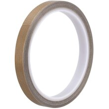 sourcing map Heat Resistant Tape - High Temperature Heat Transfer Tape PTFE Film Adhesive Tape 10mm x 10m(33ft)