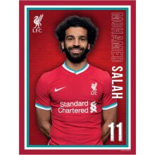Liverpool FC Mohamed Salah 2020 21 Poster