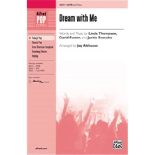 Alfred 00-38222 DREAM WITH ME-STRX CD