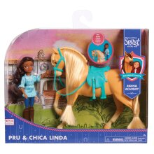 Spirit Small Doll & Horse - Pru & Chica Linda