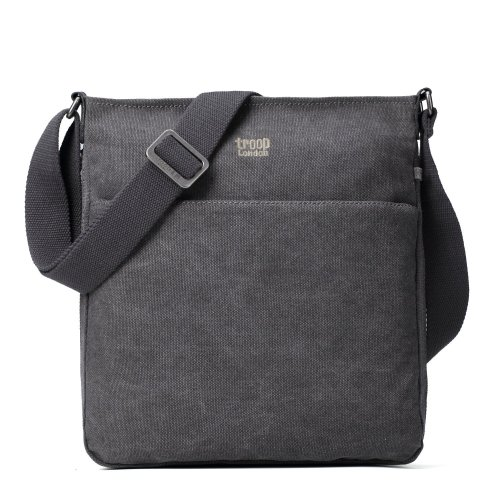 Troop London Classic Canvas Across Body Bag | Buy Across Bags Online | Canvas Across Body Bag | shoulder bags for women