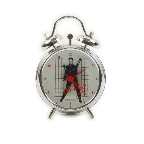 "Elvis Presley Jailhouse Rock 3"" Alarm Clock"