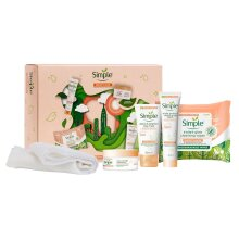 Simple Skin Care Gift Set, Variety Pack Present For Sisters, Women & Girls