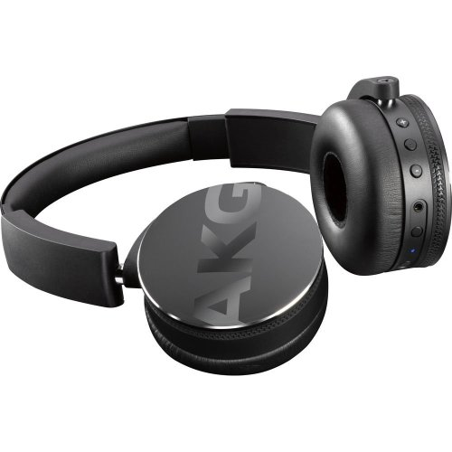 AKG Y50BT Wireless Bluetooth Headphones - Black