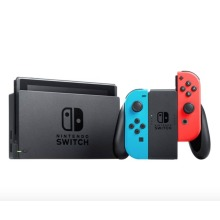Nintendo Switch Console 2nd Generation, Neon Blue and Red - Used