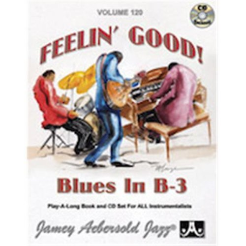 Alfred 24-V120DS Jamey Aebersold Jazz, Volume 120 - Feelin Good