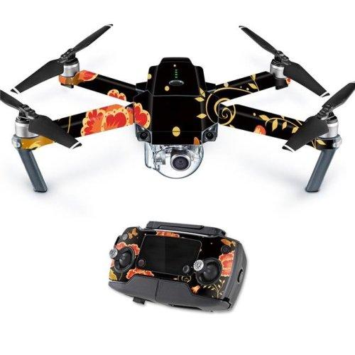 MightySkins DJMAVPRO-Flower Dream Skin Decal Wrap for DJI Mavic Pro Quadcopter Drone Cover Sticker - Flower Dream