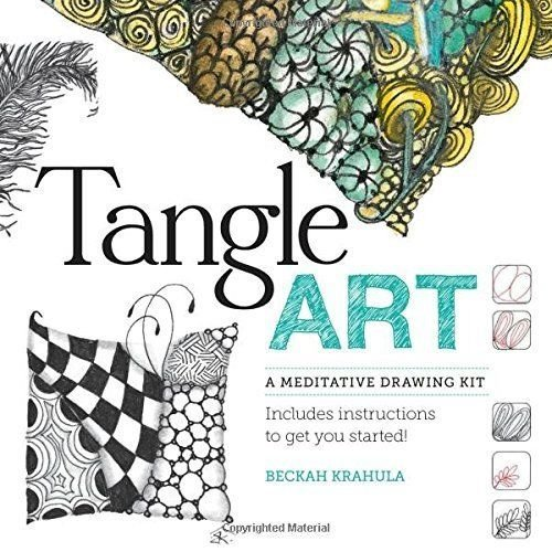 Tangle Art - A Meditative Drawing Kit