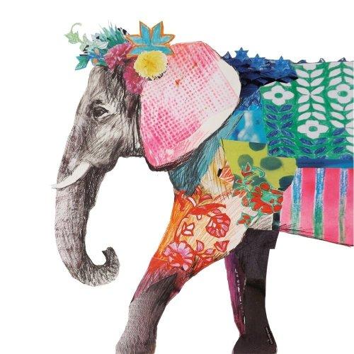 4 x Paper Napkins - Regalia Elephant - Ideal for Decoupage / Napkin Art