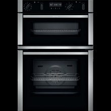 NEFF N50 U2ACM7HH0B Built In Electric Double Oven - Stainless Steel