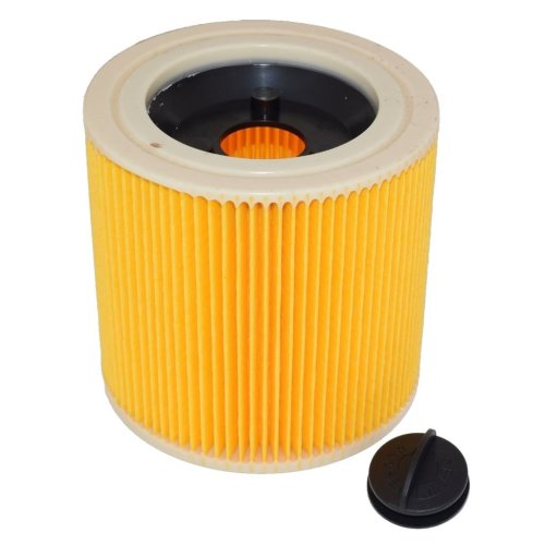 Fits Karcher A2901 and IPX4 Wet and Dry Corrugated Vacuum Filter