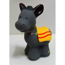 Little People Fisher Price Farm Barn Horse/donkey Replacement Figure Doll Toy