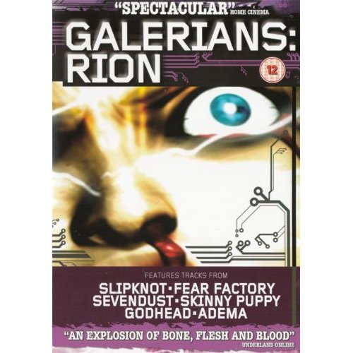Galerians Rion Spectacular Home Cinema Region 2 Cert 12 On