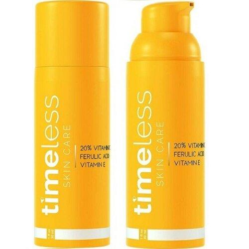 Timeless Skin Care 20% Vitamin C+E Ferulic Acid serum 30ml UK Dispatch