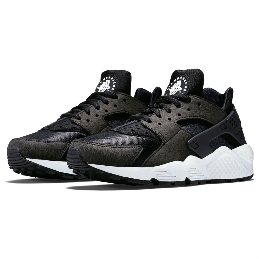 (5.5 UK, Black) Nike Air Huarache Trainers Womens Shoes Ladies Running Sneakers Footwear