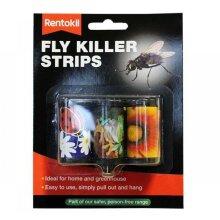 Rentokil FF105 Fly Killer Strips Pack of 3