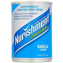 Nurishment Vanilla Flavour Milk Drink 400 g (Pack of 12)