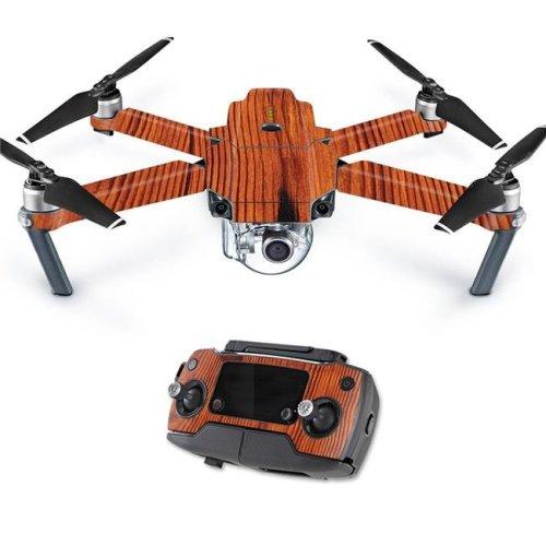 MightySkins DJMAVPRO-Knotty Wood Skin Decal Wrap for DJI Mavic Pro Quadcopter Drone Cover Sticker - Knotty Wood