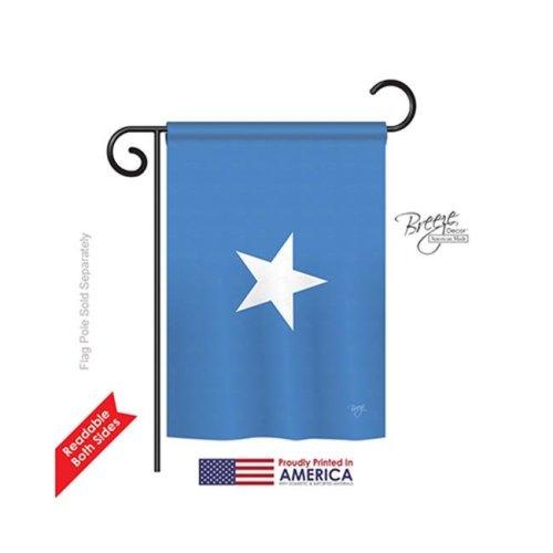 Breeze Decor 58298 Somalia 2-Sided Impression Garden Flag - 13 x 18.5 in.