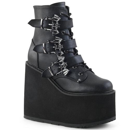 Demonia SWING-103 Blk Vegan Leather