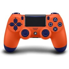 Official Sony PS4 Sunset Orange Controller for PS4 console. - Used