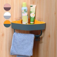Bathroom Corner Shower Shelf Wall Storage Basket