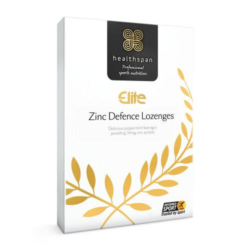 Immunity | Zinc Defence Lozenges | Healthspan Elite | 45 Lozenges