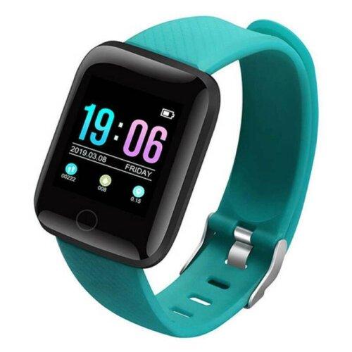 (Green) Bluetooth Smart Watch Sports Activity Tracker Pedometer Step Counter Calorie Fit Bit