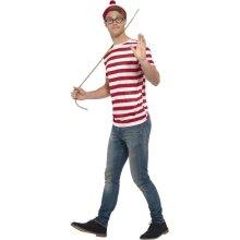 Mens Where's Wally Kit Fancy Dress Accessory