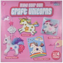 Kreative Kids TY1534 4 in 1 Unicorn Craft Set in Colour Box