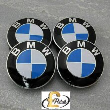 BMW WHEEL CENTRE CAPS 68MM 10PIN CLIP FITS 1,3,5,7 Series E90,34 Z4 x4