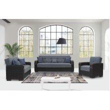 Mlta 3+2+1 Seater Ottoman Storage Sofa bed