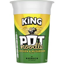 Pot Noodle Chicken and Mushroom Flavour (12 x 114 g Pots)