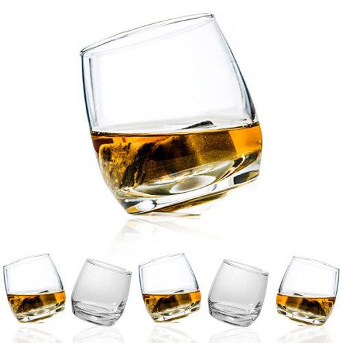 Rocking Whiskey Glasses - Set of 6 by Sagaform